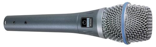 shure beta87a microfono condenser supercardioide cuotas