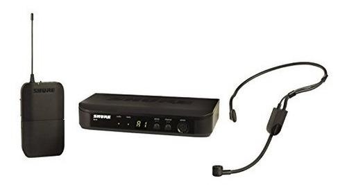 shure blx14 / p31-h9 sin hilos sistema con pga31 auriculares