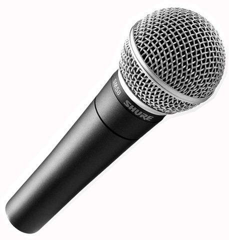 shure fp25/sm58-j3 sistema microfono inalambrico camara mano