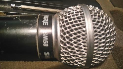 shure inalambrico microfono