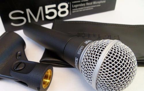shure micrófono de mano sm58 lc