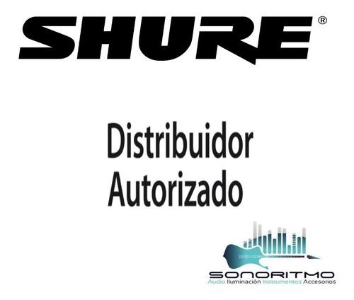 shure micrófono inalámbrico blx24/sm58 original garantia