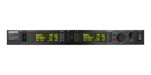 shure p10t transmisor inalámbrico para sistema de monitoreo