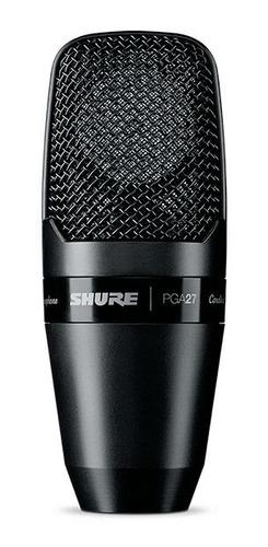shure pga27 - lc micrófono condensador cardioide winners