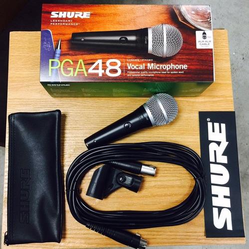 shure pga48-xlr microfono de mano