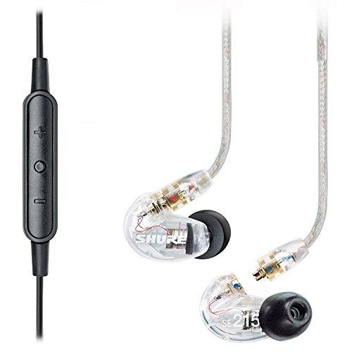 shure se215 sonar con aislamiento de in- oreja auriculares y