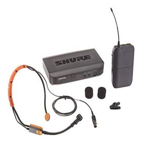 shure sistema microfono diadema inalambrico blx14/sm31
