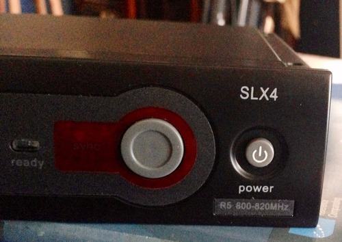 shure slx24/sm58 micrófono inalámbrico (envío incluido)