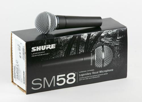 shure sm58-lc - micrófono dinámico - factura - garantía