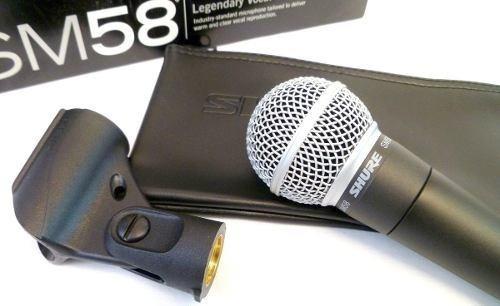 shure sm58 lc original microfono profesional para canto voz
