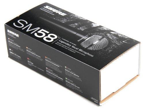 shure sm58-lc vocal micrófono cardioide
