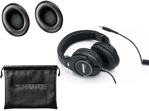 shure srh440 profesional studio auriculares con par de extra