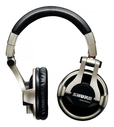 shure srh750dj auricular profesional para dj