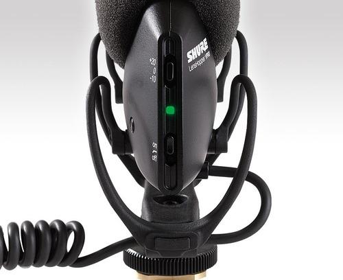 shure vp83 microfono profesional para vídeo camara con envio