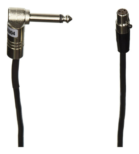 shure wa304 2' instrument cable, 4 pin mini connector (ta4f)