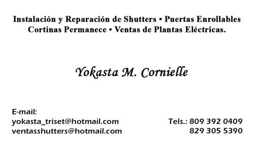 shutters , malla protección, toldo, cortinas permas