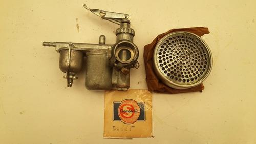siambretta 125 carburador con filtro italy 0km 1960 oncativo