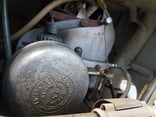 siambretta 125 ld / motor hecho nuevo
