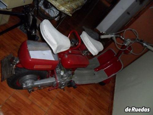 siambretta standard 125cc-restaurada de colección