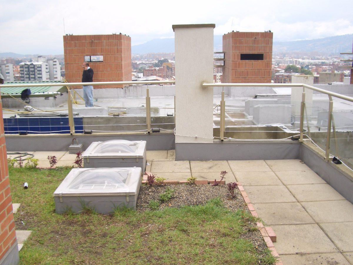 Sibaco impermeabilizaci n filtraci n azoteas terrazas for Terrazas azoteas
