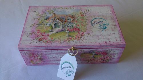 sicarulu, artesanía ceramica de lujo.caja de té organizador