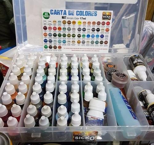 sicko color mega set 60 colores y muchos mas