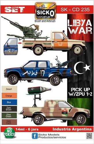 sicko color set 235 libia war