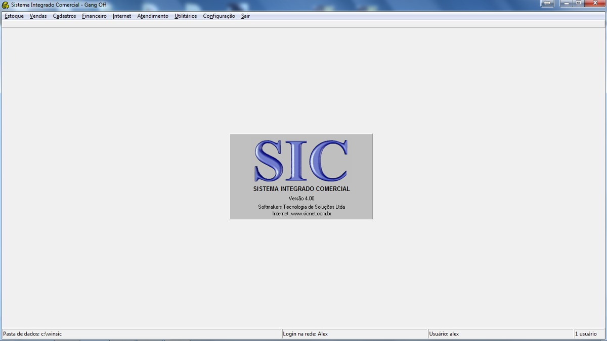 sic sistema integrado comercial serial