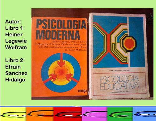 sicologia moderna y educativa