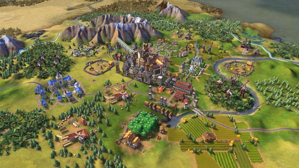 Sid Meiers Civilization Vi Proper - Pc Jogo Envio Na Hora - R$ 9 ...