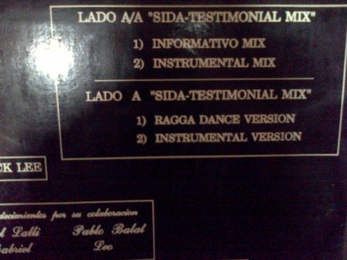 sida testimonial mix lp vinilo gapul(varios)dialogomusical