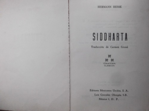 siddharta herman hesse premio nobel autor lobo estepario