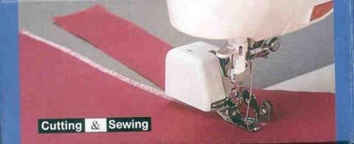 side cutter ii máquina de coser acoplamiento del pie