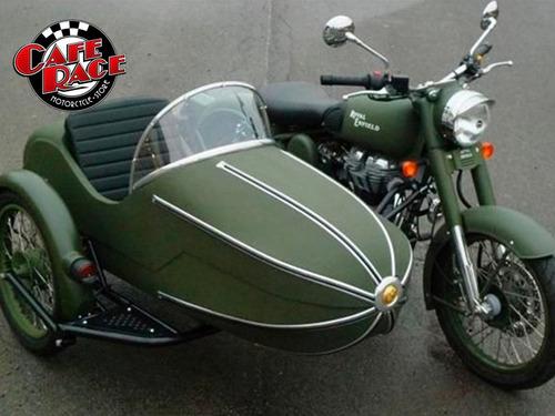 sidecar royal enfield bullet + zeppelin, adaptable