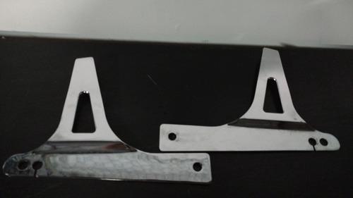 sideplates, bases para respaldo harley davidson dyna
