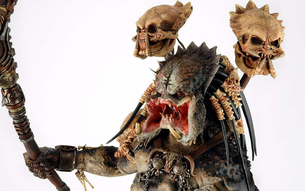 Sideshow Bad Blood Predator Estatua Limited Estatua Nuevo