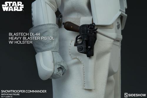 sideshow - star wars  snowtrooper commander 1/6