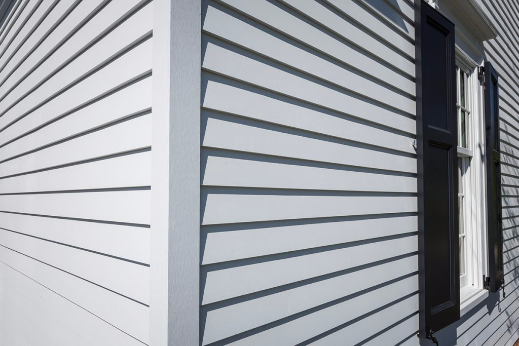 Siding Pvc Revestimiento Pared Exterior Blanco Gris 5267 En - Revestir-pared-exterior