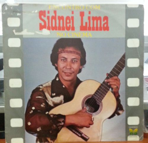 sidnei lima - encontro com sidnei lima no cinema - 1981 (lp)