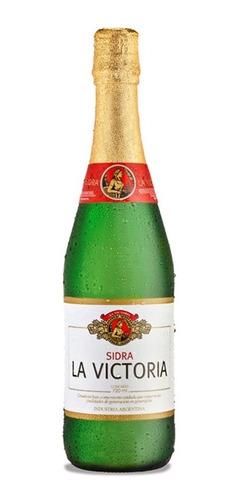 sidra la victoria etiqueta blanca 720ml botella 01almacen