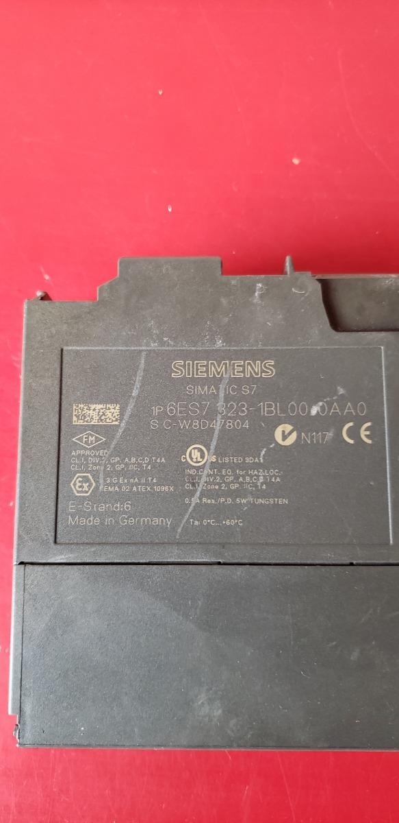 SIEMENS SIMATIC S7 I//O MODULE 6ES7 323-1BL00-0AA0 6ES73231BL000AA0