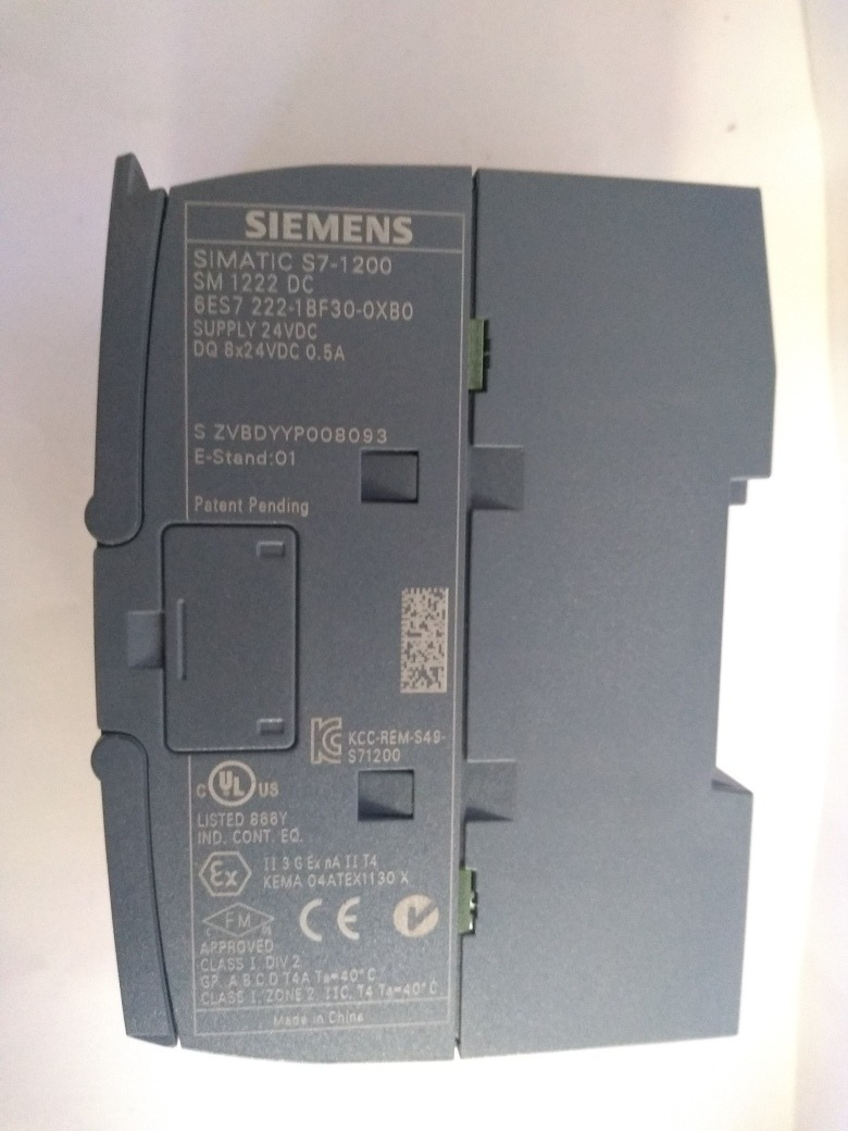 Siemens 6es7222 1bf30 0xb0 Modulo De Salidas Digital