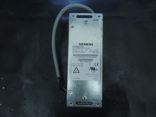 siemens 6se6400-3cc00-2ad3 inductor choque micromaster