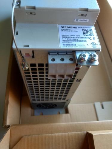 siemens 6sn11231aa000da2 simodrive 611 power module 80a