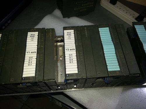 siemens plc s7 300 modulo fm353 power industrial