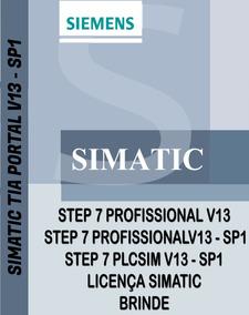 Siemens Tia Portal V13 - Sp1 S7-1200 / S7- 1500 Com 4 Dvd