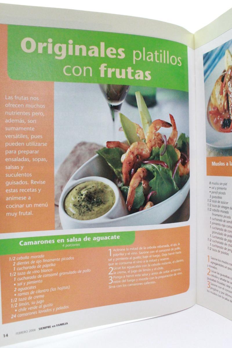 Siempre En Familia Dieta De Alimentos Crudos F6r - $ 50 00
