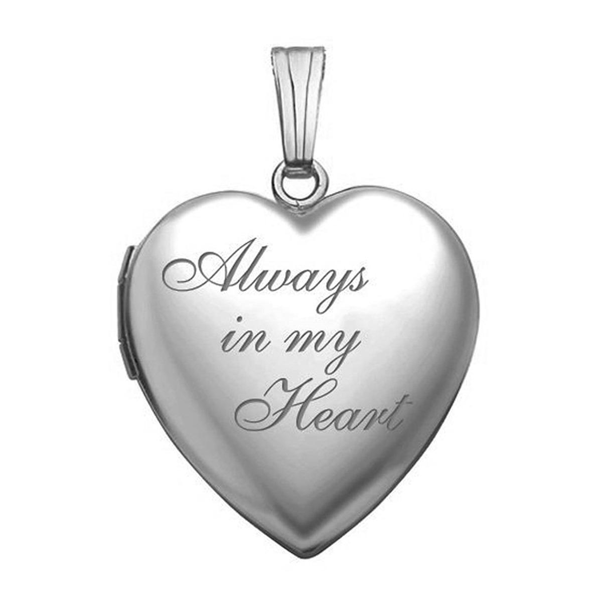 Siempre mi mi corazn silver heart locket pendant necklace 3 locket pendant necklace 3 cargando zoom aloadofball Images