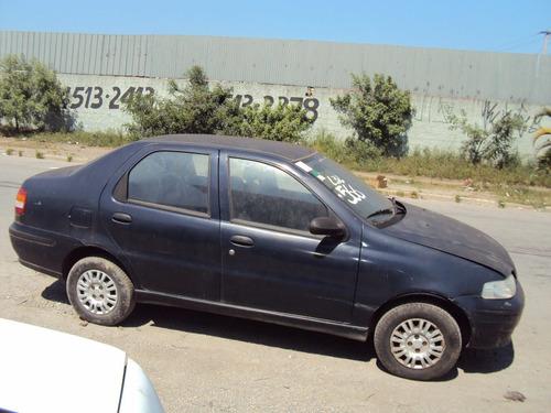 siena 1.0 8v 02 sucata motor porta capo suspensão direção