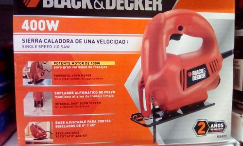 sierra caladora 400w black decker
